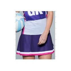 Sublimated 'DYO' Sports Netball Skirt - AP Netball Skirt