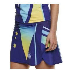 Sublimated 'DYO' Sports Netball Skort - AP Netball Skort