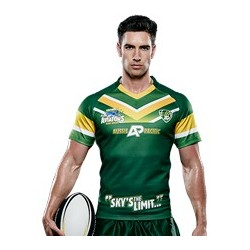 Sublimated 'DYO' Sports Rugby Jersey - AP Rugby Jersey