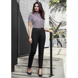 Womens Bandless Slim Leg Pant - 14021