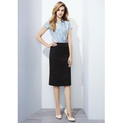 Womens Bandless Lined Skirt - 20112