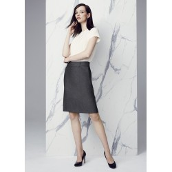Womens Feature Pleat Skirt - 20316