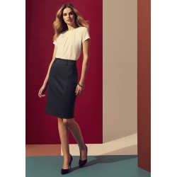 Womens Skirt with Rear Split - 20640