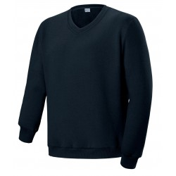 UNISEX ADULTS V NECK FLEECE JUMPER - CJ1617