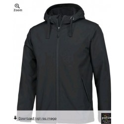 PDM WATER RESISTANT HOODED SOFTSHELL JACKET - 3WSH