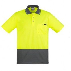 Mens Comfort Back S/S Polo - ZH415