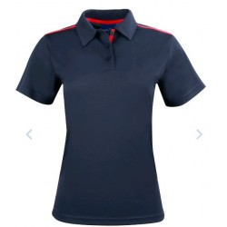 Ladies Rapid Cool Short Sleeve Contrast Polo - PS84
