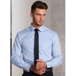 Mens CVC Oxford Long Sleeve Shirt - M7040L