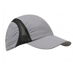 Micro Fibre and Mesh Sports Cap with Reflective Trim - 3814