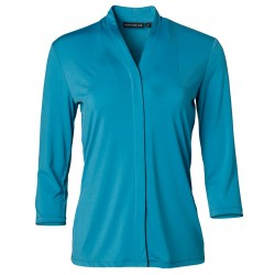 Ladies Isabel Stretch 3/4 Sleeve Knit Top - M8830