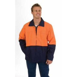311gsm HiVis Two Tone Protector Drill Jacket - 3868