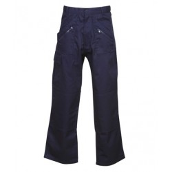 Poly Cotton Drill Action Pants - W85