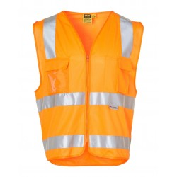 High Visibility Safety Vest with chest pockets and 3M Tapes - SW42
