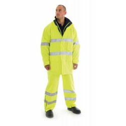 300D Polyester/PU HiVis Breathable & Anti-Static Jacket - 3875