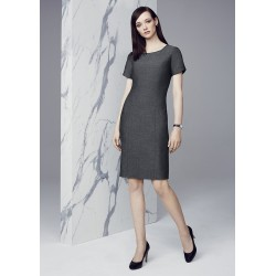 Womens Short Sleeve Shift Dress - 30312