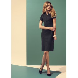 Womens Open Neck Dress - 30620