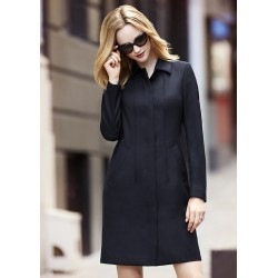 Womens Lined Overcoat - 63830