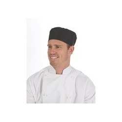 200gsm Polyester Cotton Flat Top Chef Hat - 1602
