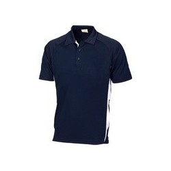 175gsm Polyester Adult Cool-Breathe Side Panel Polo Shirt - 5221