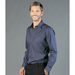 Mens Premium Poplin (Long Sleeve Shirt) - 1272L