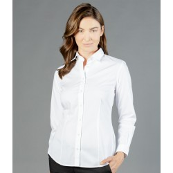 Womens Premium Poplin (Long Sleeve Shirt) - 1520WL