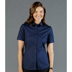Womens Premium Poplin (Short Sleeve Shirt) - 1520WS