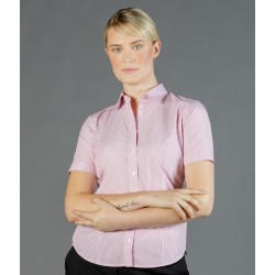 Womens Dobby Stripe (Short Sleeve Shirt) - 1891WS