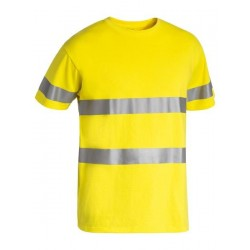 3M TAPED HI VIS COTTON T-SHIRT - BK1017T