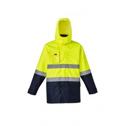 Mens Hi Vis Basic 4 in 1 Waterproof Jacket - ZJ220