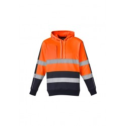 Unisex Hi Vis Stretch Taped Hoodie - ZT483
