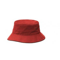 Sandwich Brim Bucket Hat - 4007