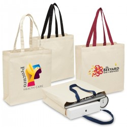 Heavy Duty Canvas Tote with Gusset - 2002