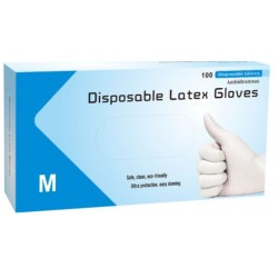 Disposable Latex Gloves - Glove-01