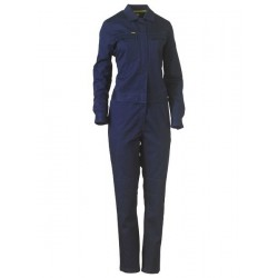 WOMENS COTTON DRILL COVERALL - BCL6065