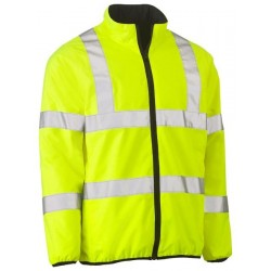 TAPED HI VIS REVERSIBLE PUFFER JACKET - BJ6350HT
