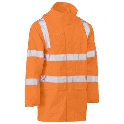 TAPED HI VIS RAIL WET WEATHER JACKET - BJ6964T