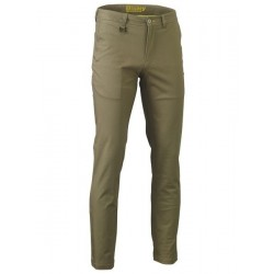 STRETCH COTTON DRILL WORK PANTS - BP6008