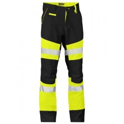 TAPED BIOMOTION CONTRAST HI VIS PANT - BP6412T
