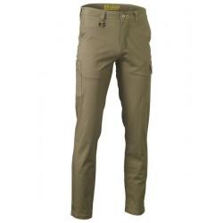 STRETCH COTTON DRILL CARGO PANTS - BPC6008