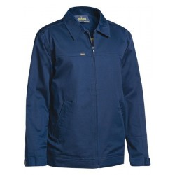 COTTON DRILL JACKET W- LIQUID REPELLENT FINISH - BJ6916