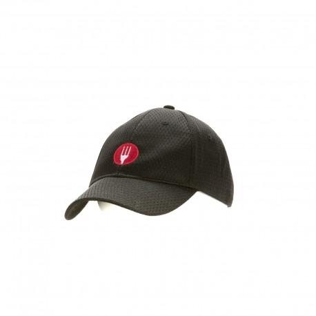 Black Cool Vent Cap w/ CW Logo - BBCW