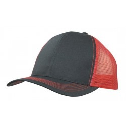 Breathable Poly Twill With Mesh Back - 3819