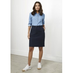 Lawson Ladies Chino Skirt - BS022L