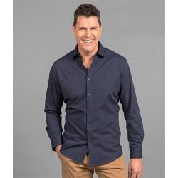 Mens Long Sleeve Dot Print Shirt - 1743L