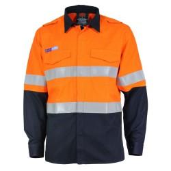 DNC INHERENT FR PPE1 2T L/W D/N SHIRT - 3445