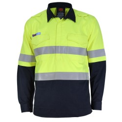 DNC INHERENT FR PPE1 2T C/F L/W D/N SHIRT - 3447
