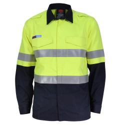 DNC INHERENT FR PPE2 2T M/W D/N SHIRT - 3455