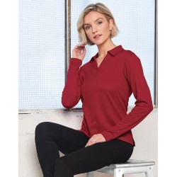 VICTORY PLUS TRUEDRY® long SLEEVE POLO - PS36B