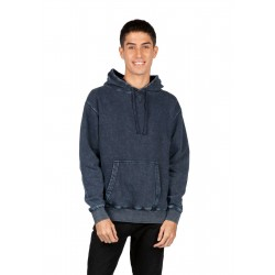 Mens stone washed fleece Hoodie - F363AW