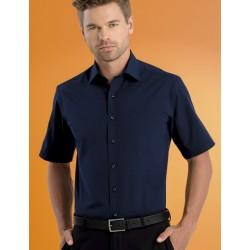 Mens Short Sleeve Poplin - 601